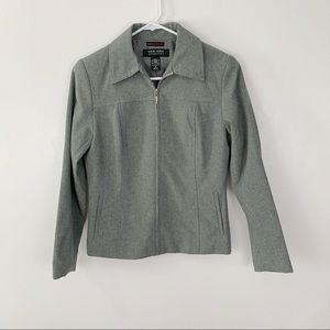 New York and Company zip up blazer jacket